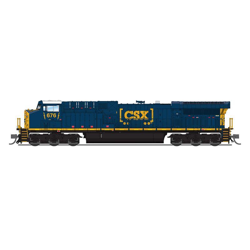 N GE AC6000 Paragon3, CSX #676