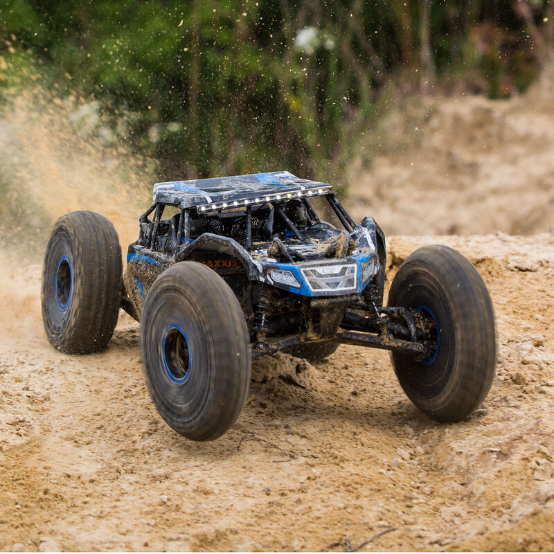 1/10 Rock Rey 4WD Brushless RTR with AVC, Blue