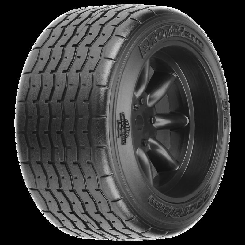 1/10 PROTOform VTA Rear Pre-Mounted Tires 12mm (2) Black