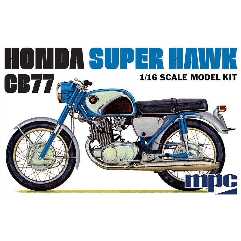 1 16 Honda Super Hawk Motorcycle