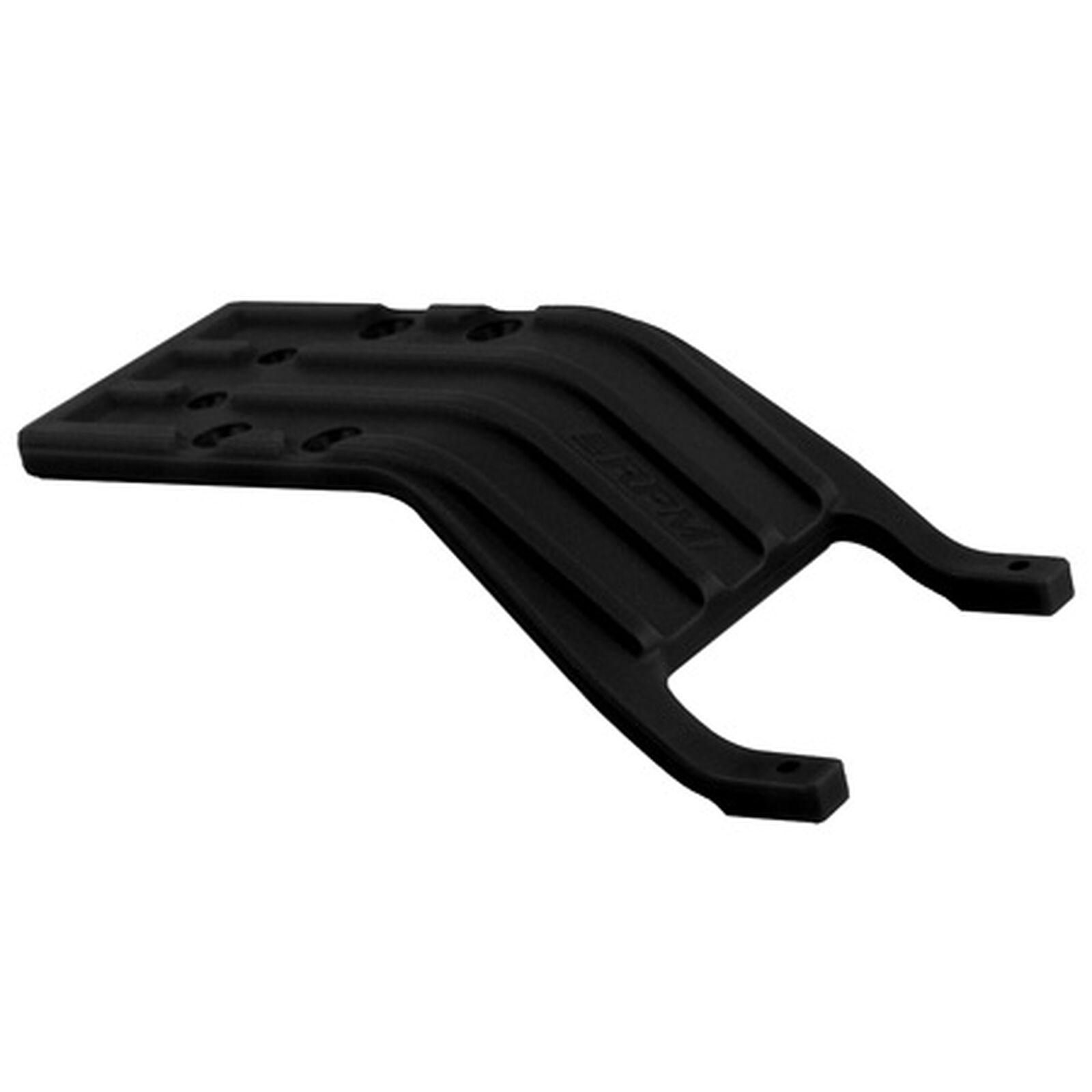 Rear Skid Plate, Black: SLH