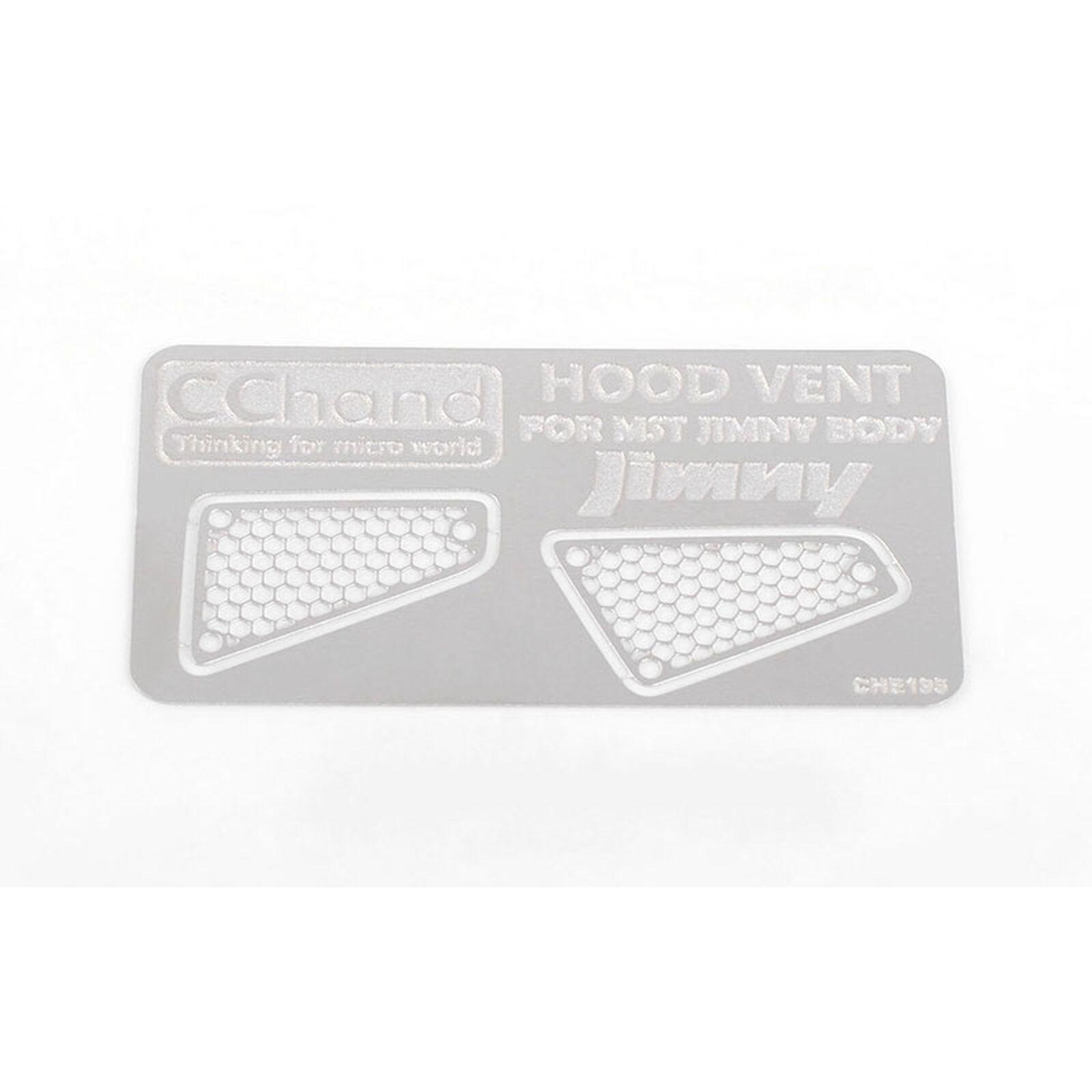 Side Metal Hood Vents: MST 1/10 CMX with Jimny J3 Body