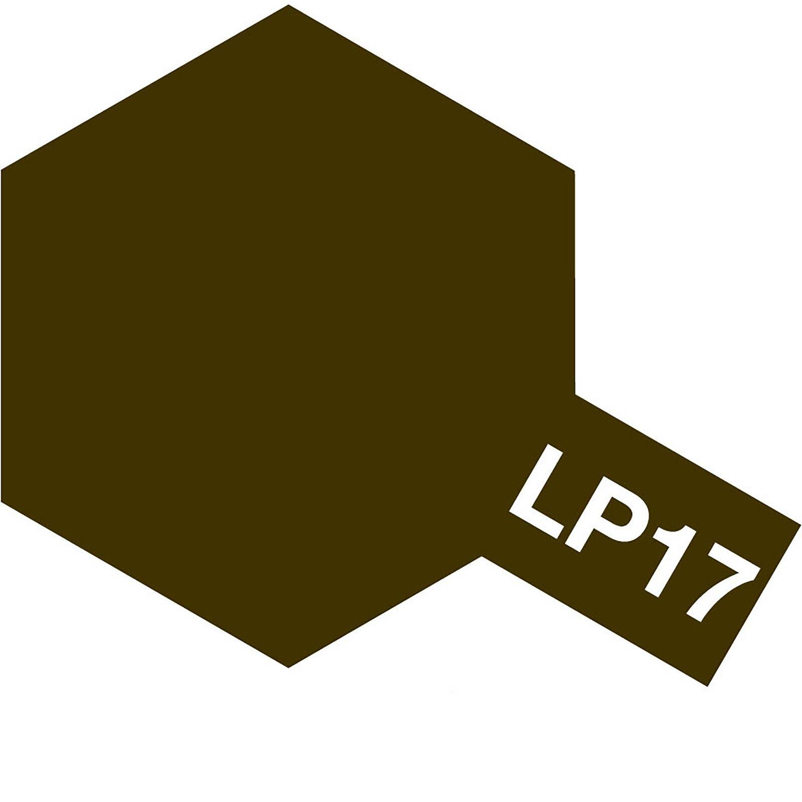 Lacquer Paint, LP-17 Linoleum Deck Brown, 10 mL