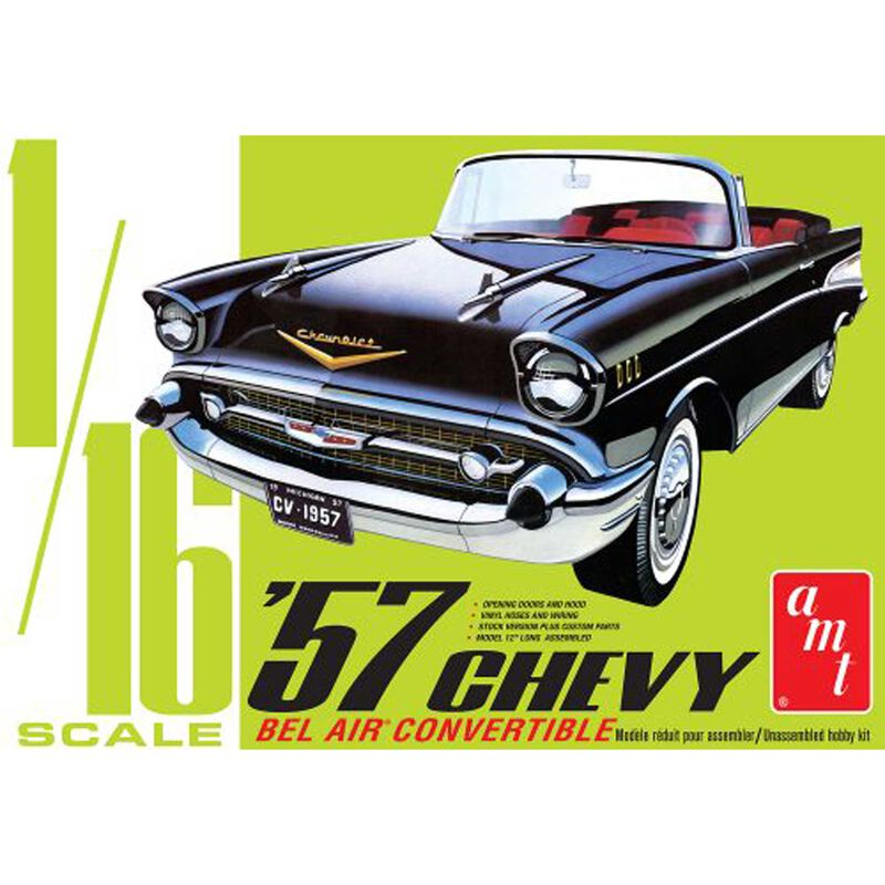 1/16 1957 Chevy Bel Air Convertible