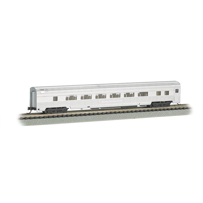 N 85' Fluted Streamline Coach w/Lighting, Undec