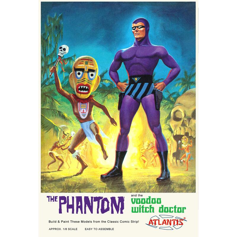 The Phantom Voodoo Witch Doctor 1/8 Plastic Model