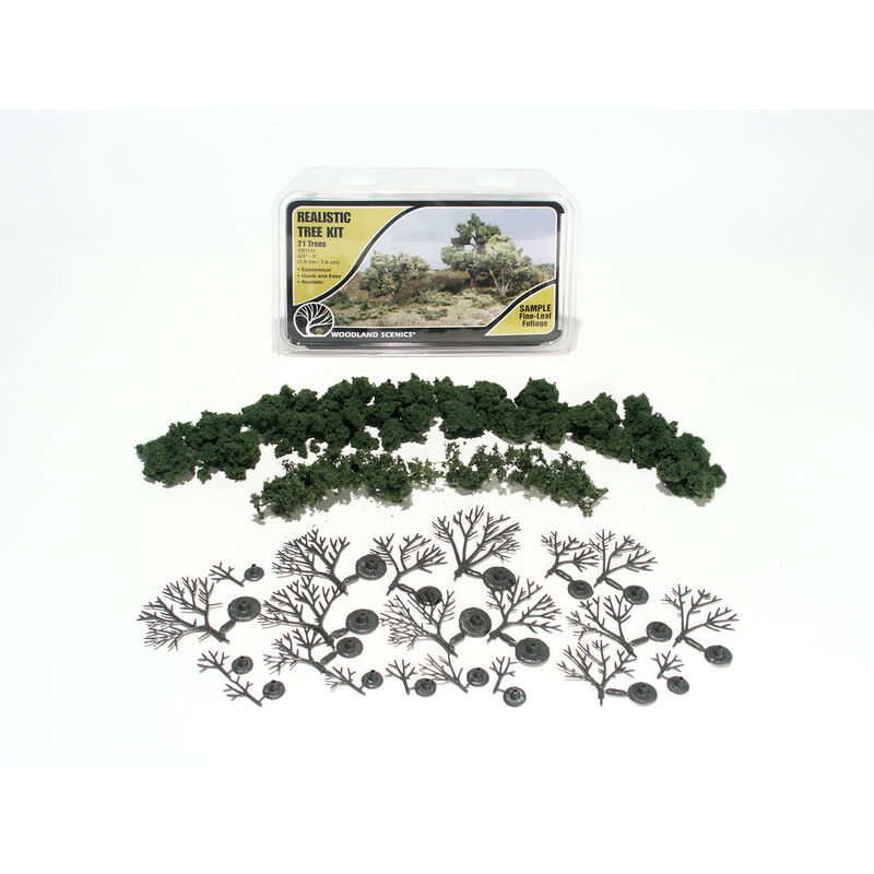 "Deciduous Tree Kit, 3/4""-3"" (21)"