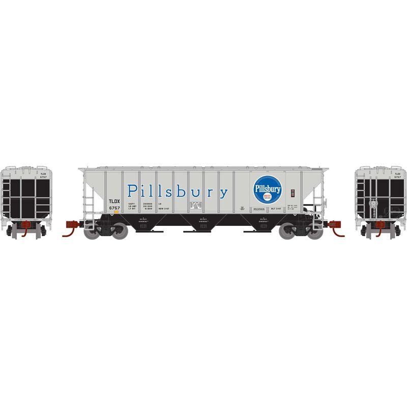 N PS 4427 Covered Hopper TLDX Pilsbury #6757