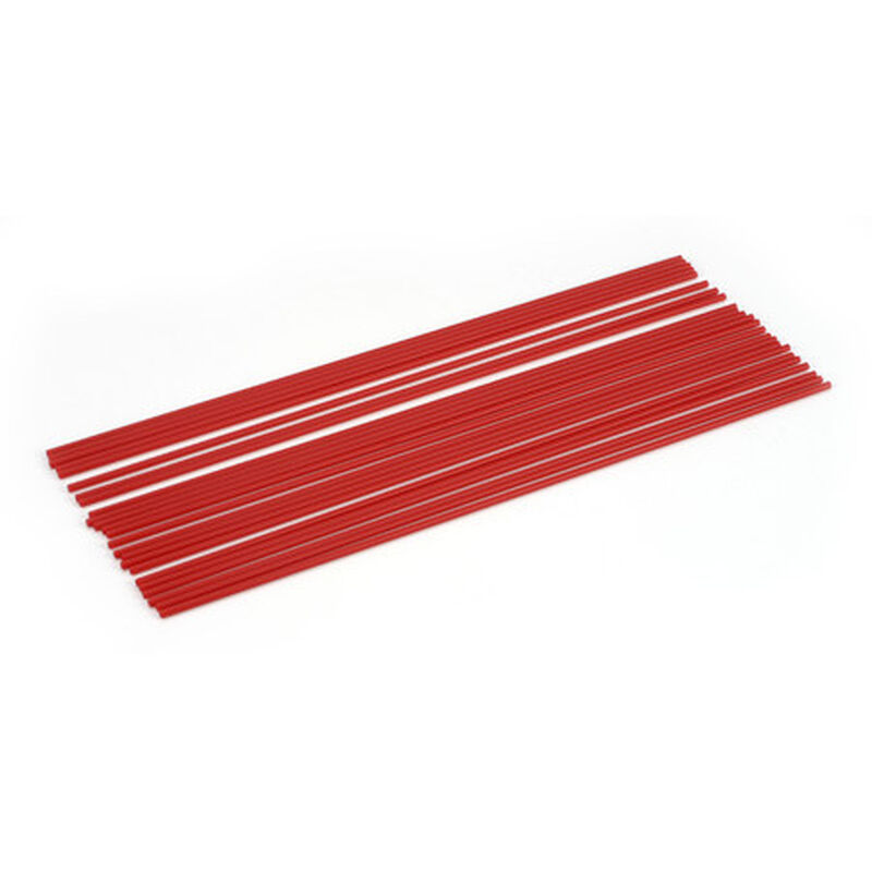 Antenna Tube, Red (24)