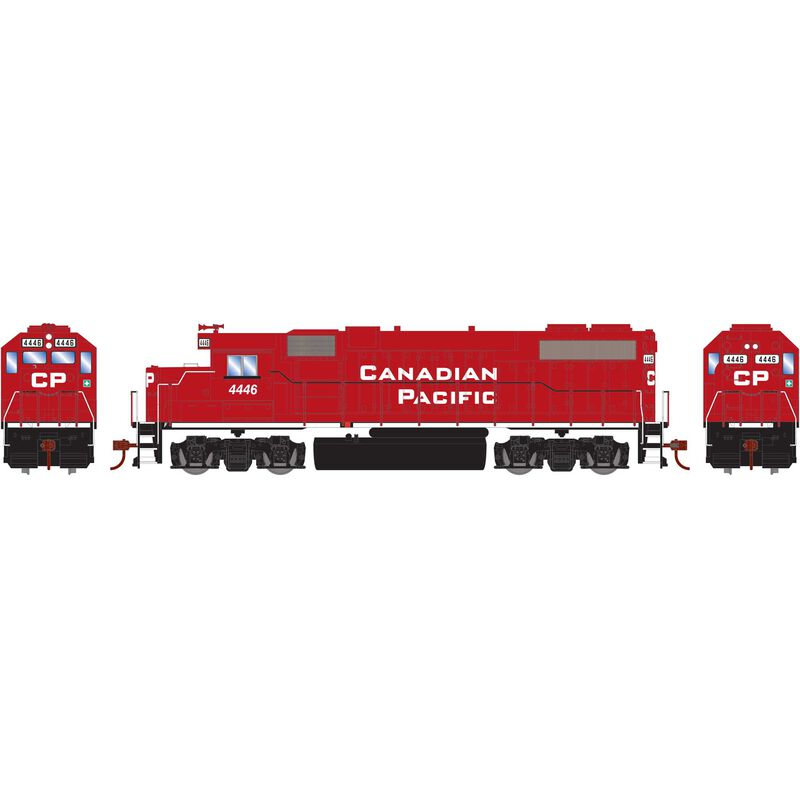 HO GP38-2 with DCC Decoder CPR New Beaver #4446