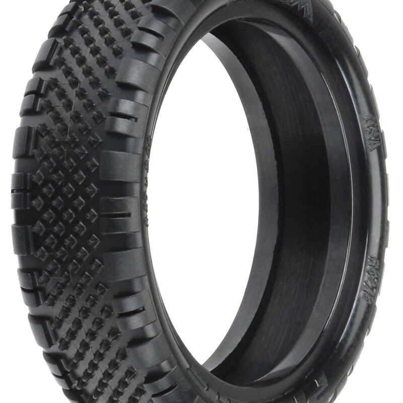 "Prism, 2.2"" 2WD Z4 Off-Road Carpet Buggy Tires, Front (2)"