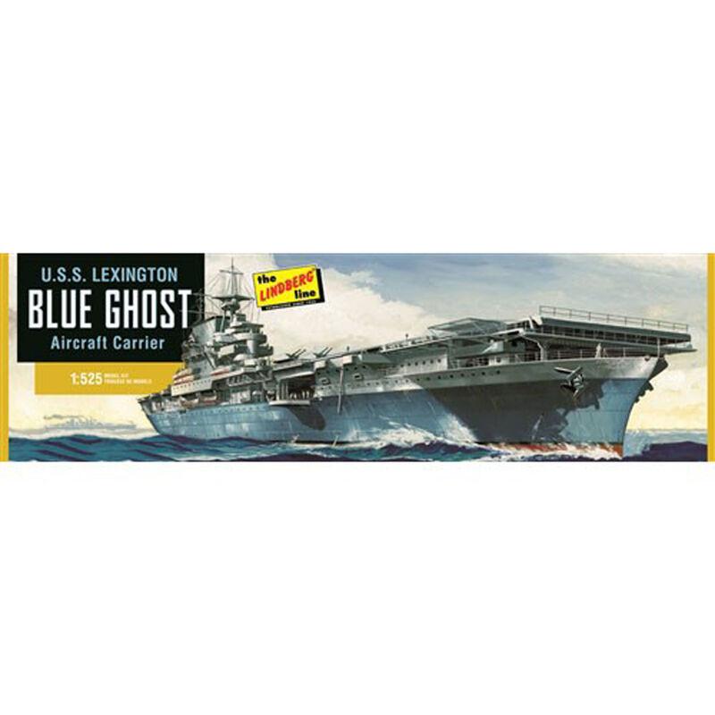 1/525 USS Lexington Aircraft Carrier - Blue Ghost