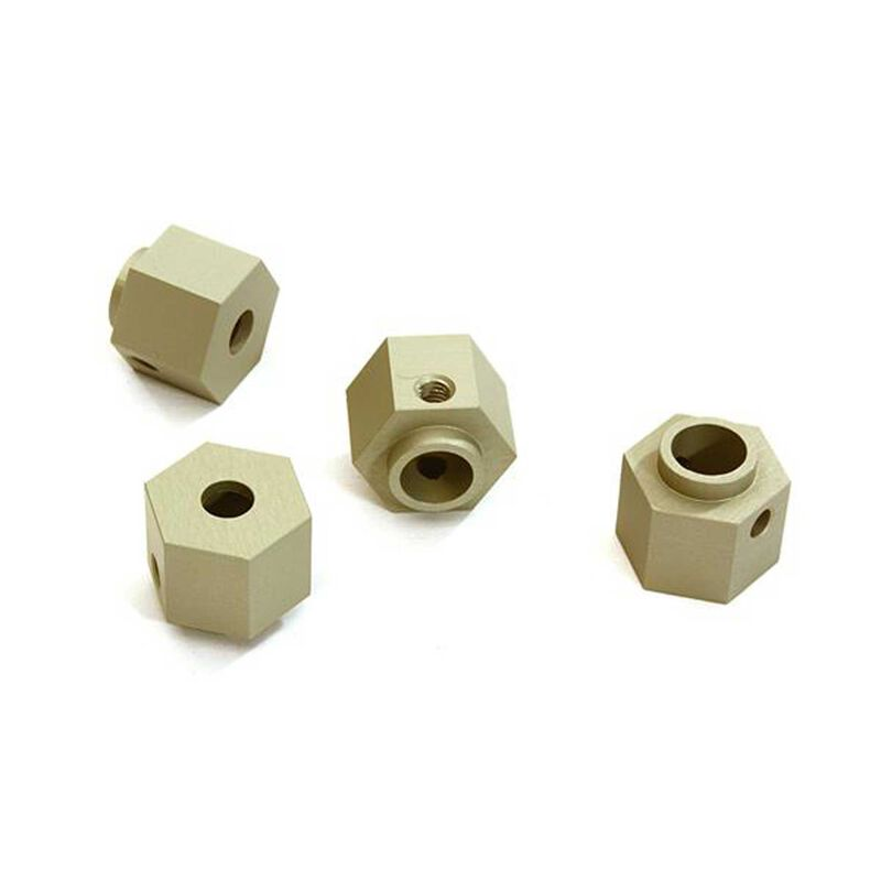 Wide Offset 9mm Thick 12mm Hex Wheel Adapter: Traxxas TRX-4