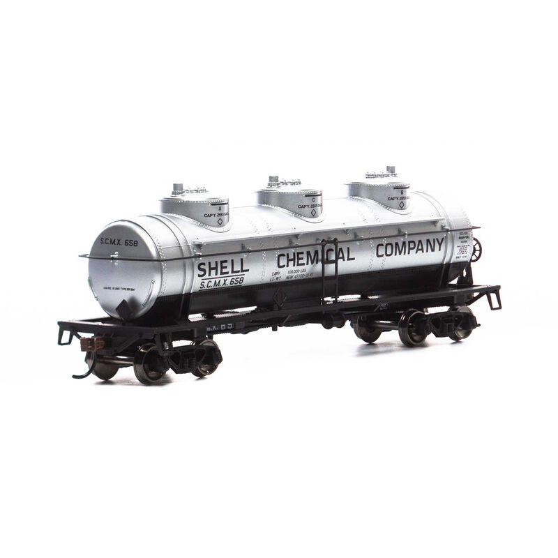 HO 3-Dome Tank, SCMX #658