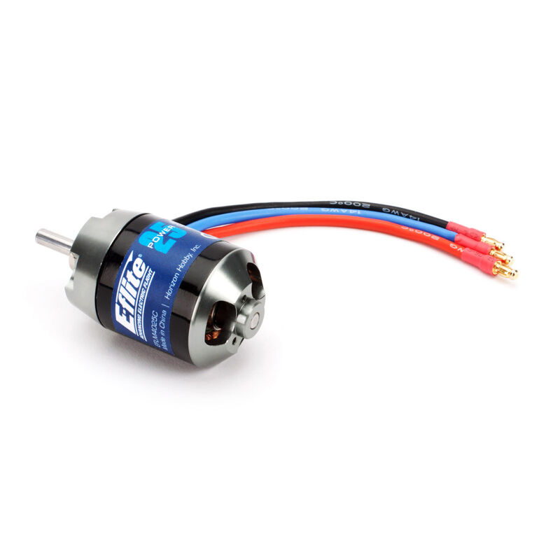 Power 25 Brushless Outrunner Motor, 1000Kv: 3mm Bullet