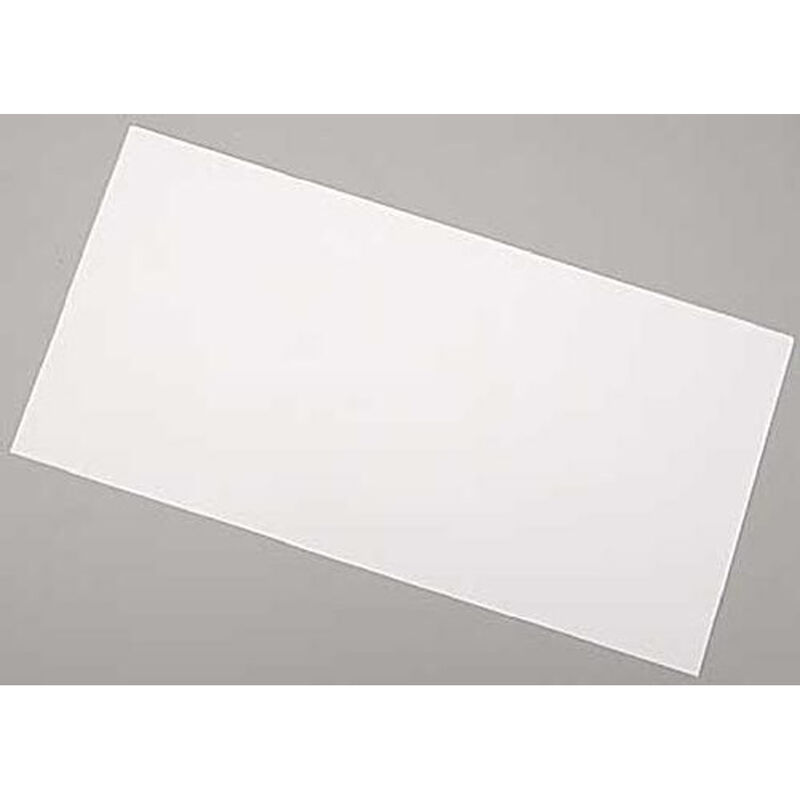 White Sheet .005 x 6 x 12 (3)