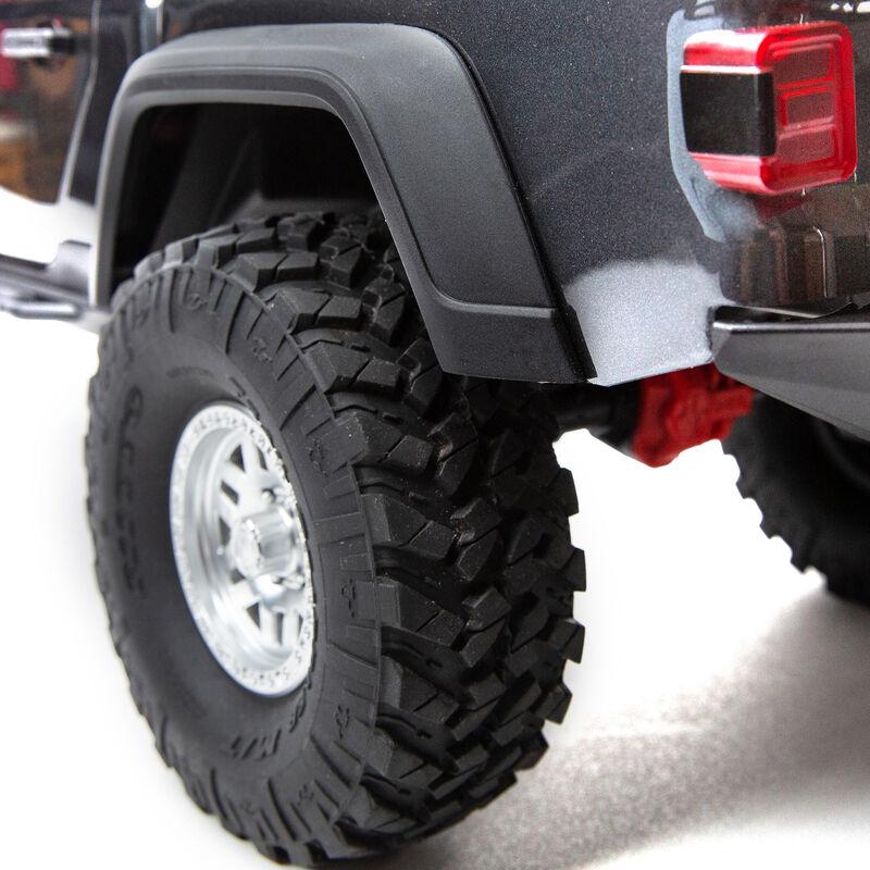 1/10 SCX10 III Jeep JT Gladiator Rock Crawler with Portals RTR, Gray