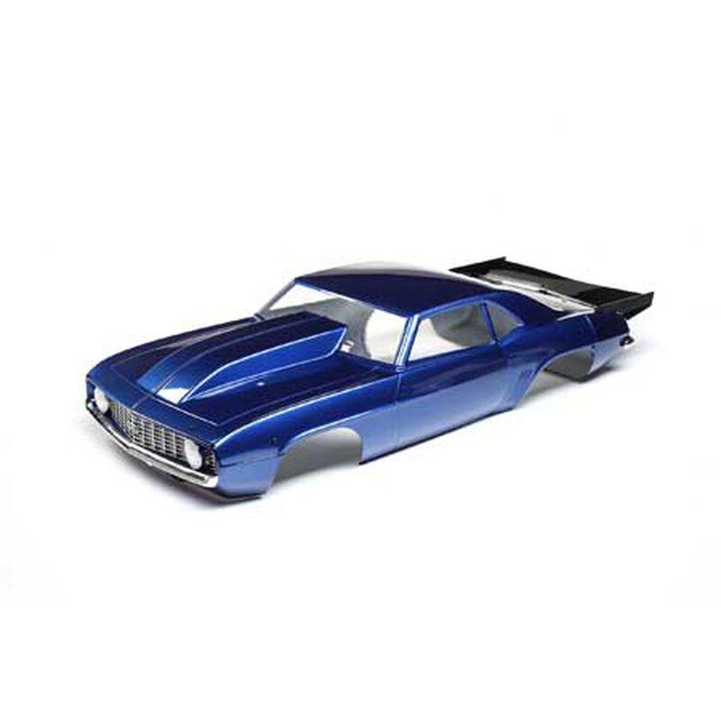 69' Camaro Body Set, Blue: 22S Drag Car
