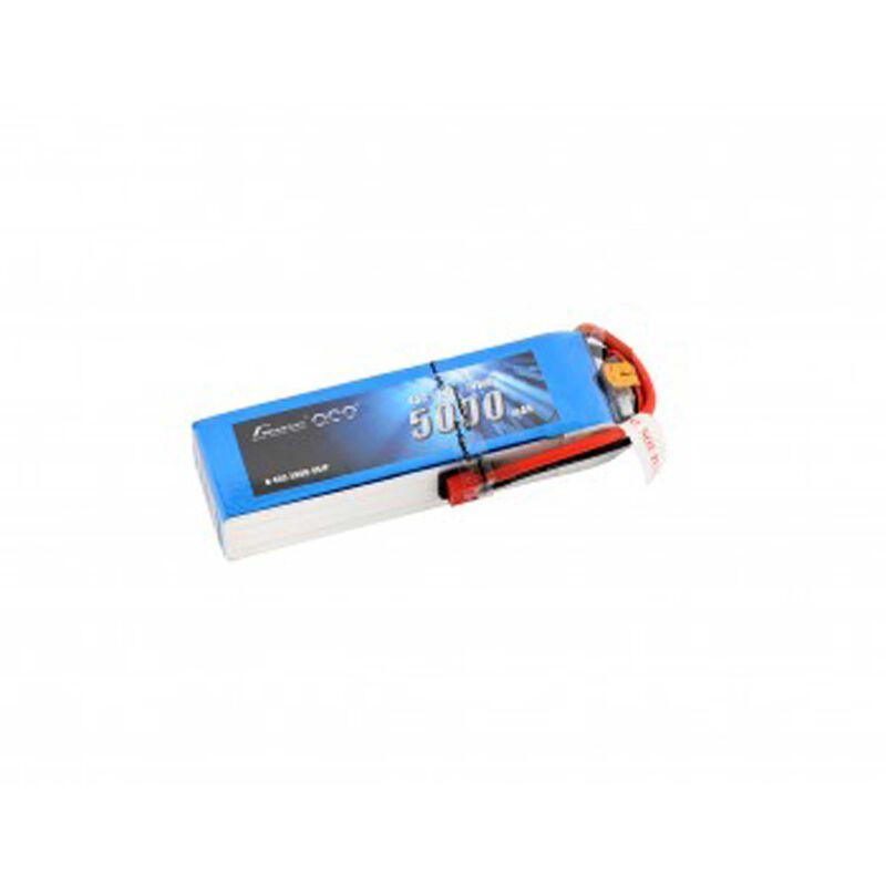 14.8V 5000 Capacity 4S Voltage 45C LiPo, Deans