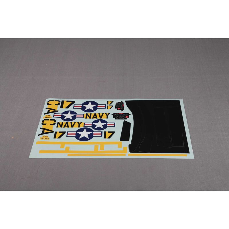 Decal Sheet: T28 V4 1400mm, Yellow