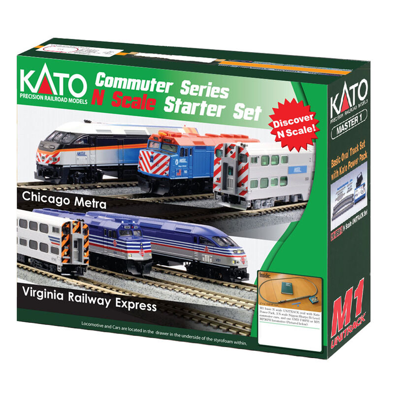N F40PH Commuter Starter Set, Metra