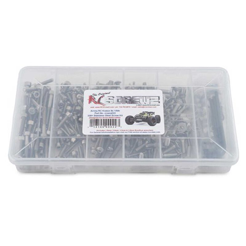 Stainless Steel Screw Kit: ARRMA KRATON 8S 1/5th