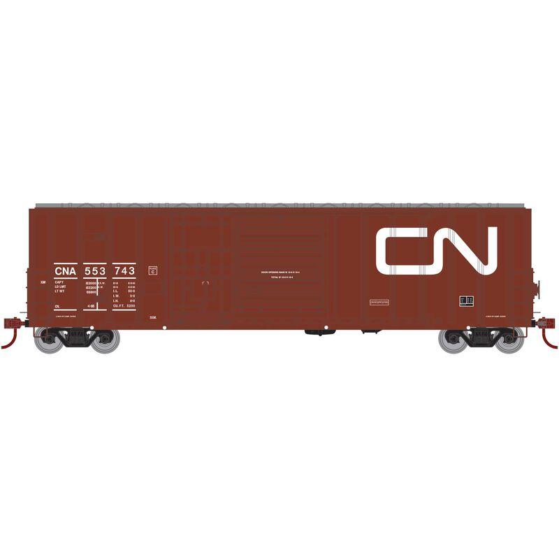 HO RTR 50' FMC Ex-Post Combo Door Box CN #553743