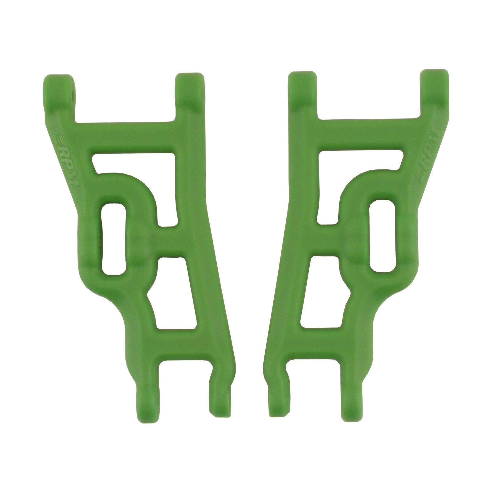Front A-Arms, Green: Elec Rustler,Stampede,SLH 2WD
