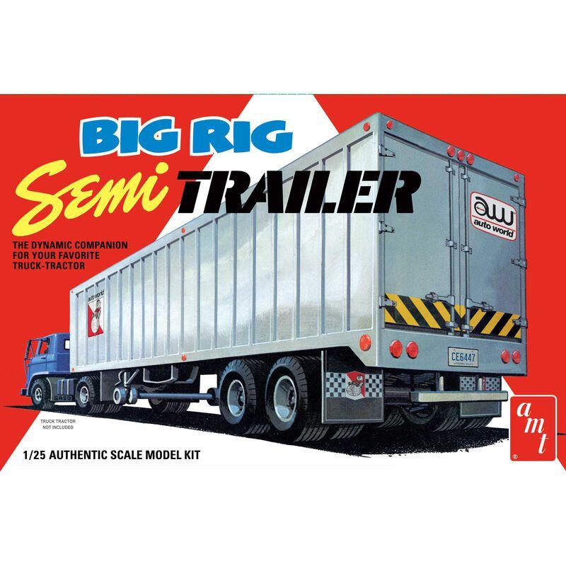 1/25 Big Rig Semi Trailer