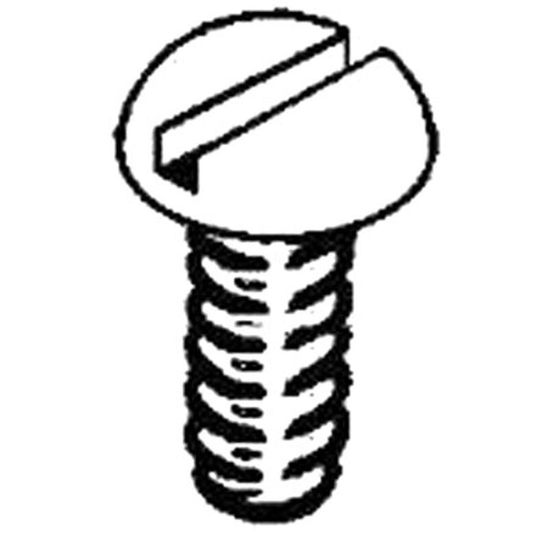 "Stainless Steel Screws, 2-56 x 3/8"" (12)"