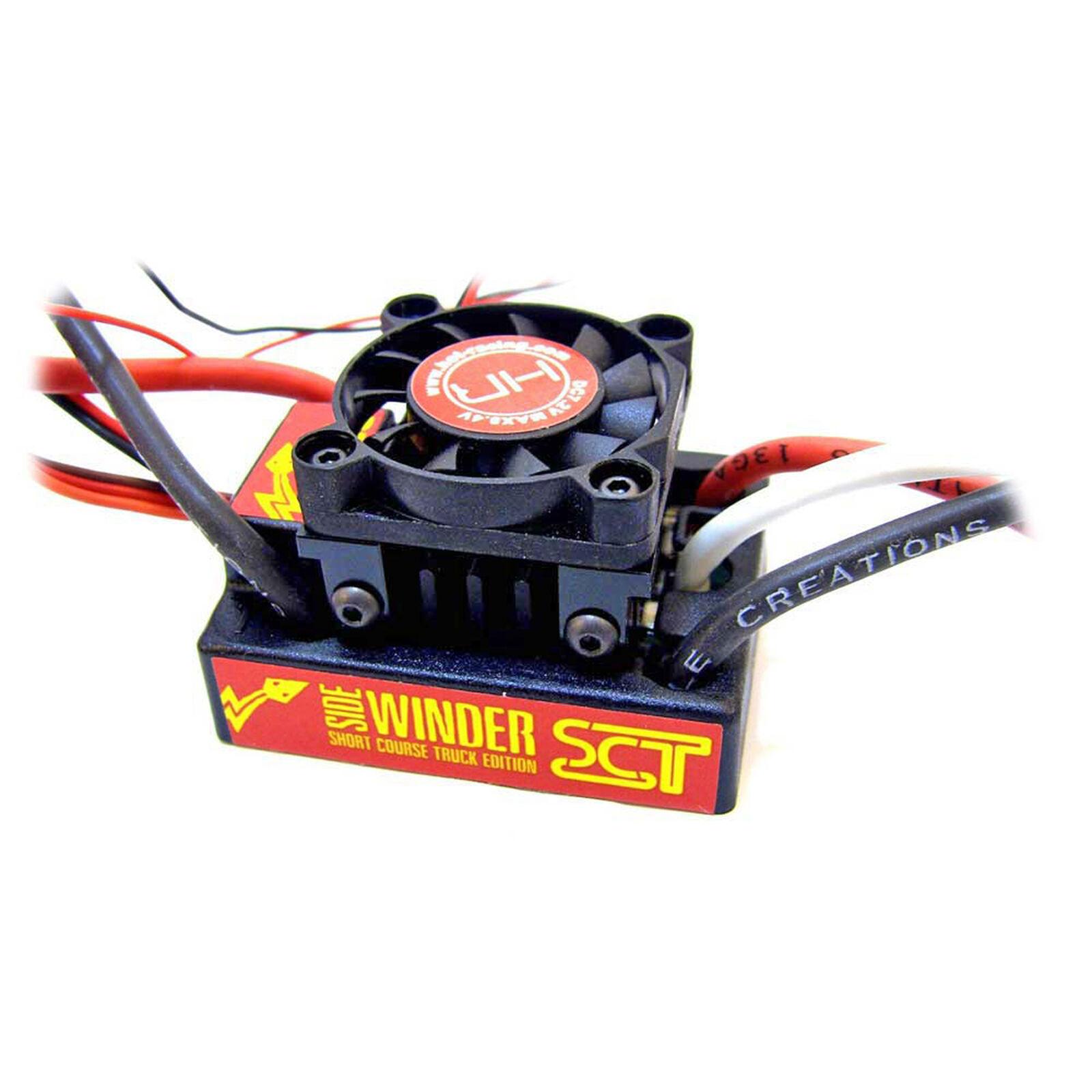Cooling Fan: Castle Sidewinder, Axial AE2 ESC