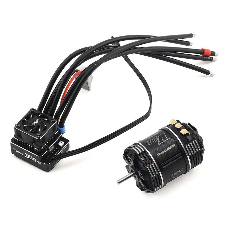 XR10 Pro G2, V10 6.5T G3 Motor/ESC Combo