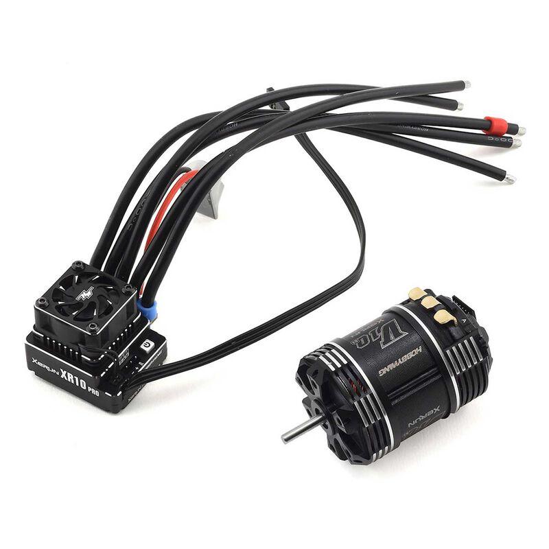 XR10 Pro G2, V10 7.5T G3 Motor/ESC Combo
