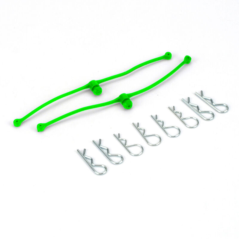 Body Klip Retainers (Lime Green)