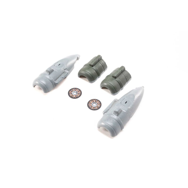 Nacelles Set: Micro EP C-47 Skytrain
