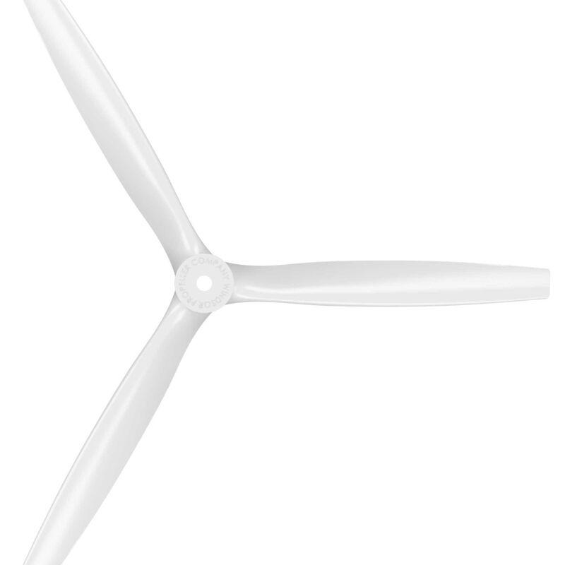 13 x 12 Pusher 3-Blade Propeller, White