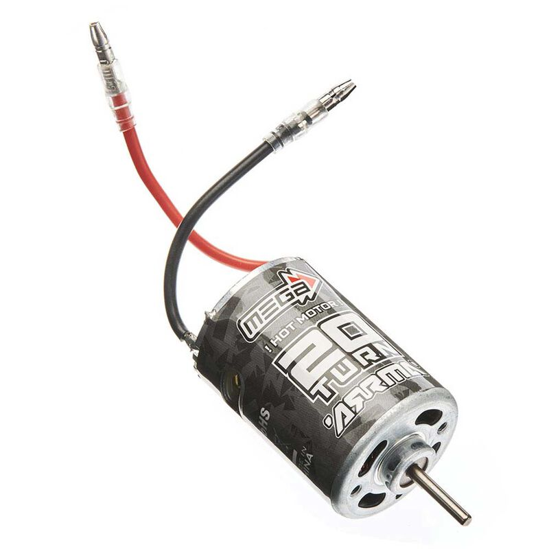 540 Brushed Motor 20T Mega SRS