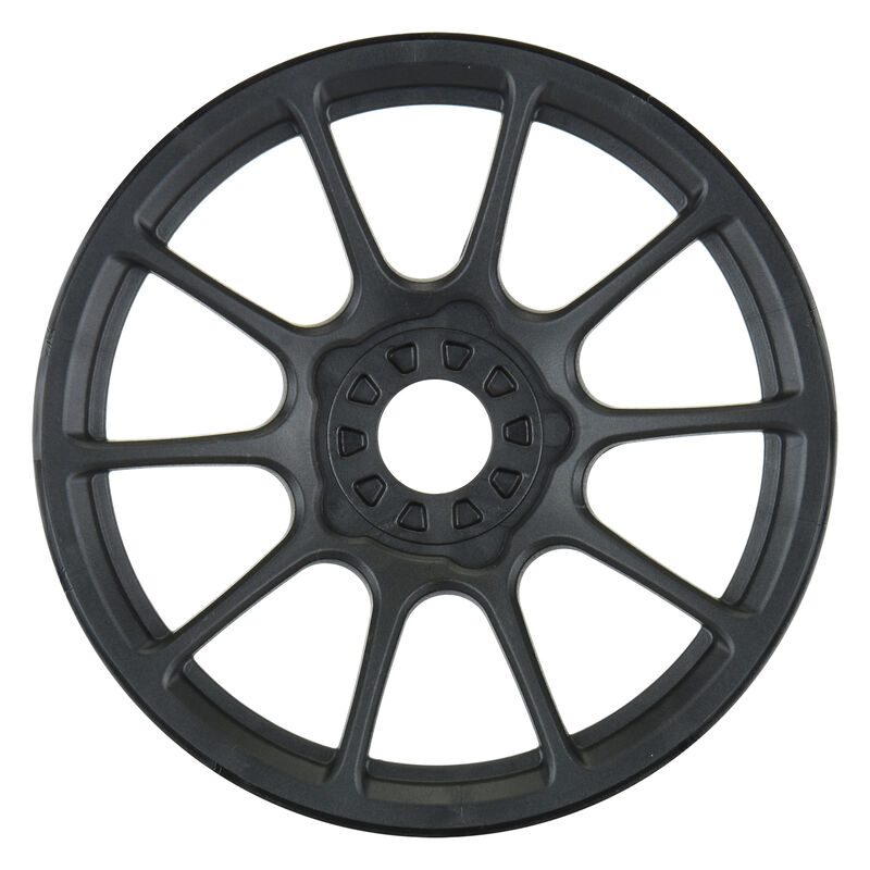 1/8 Mach 10 F/R Buggy Wheels 17mm (4) Black