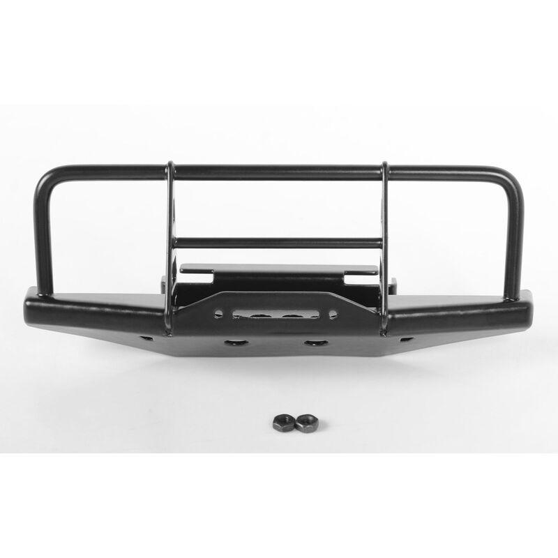 1/18 Front Winch Bumper, Black: Gelande II BlackJack RTR