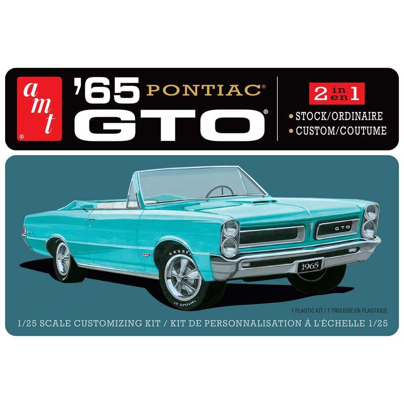 1/25 1965 Pontiac GTO