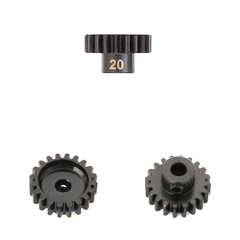 M5 Pinion Gear, 20T, MOD1, 5mm Bore, M5 Set Screw