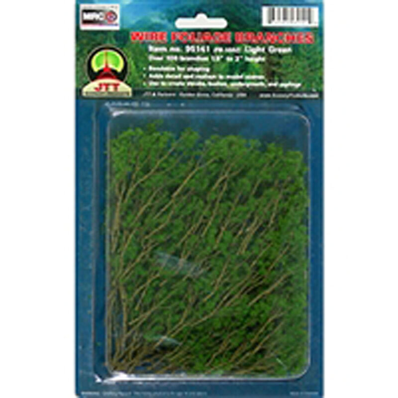 Wire Branches, Lt Green 1.5-3""