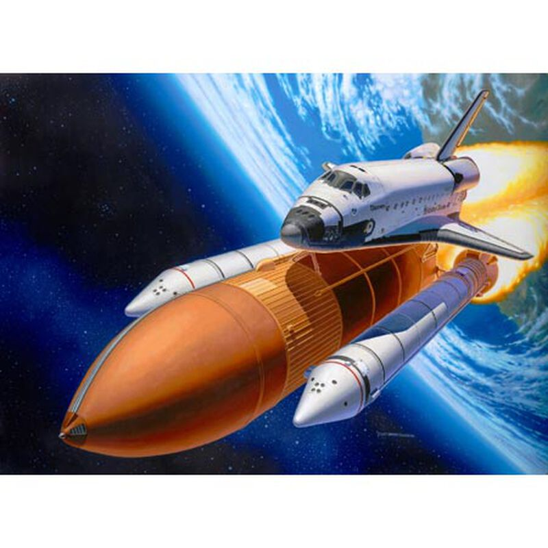 1/144 Shuttle Discovery & Booster