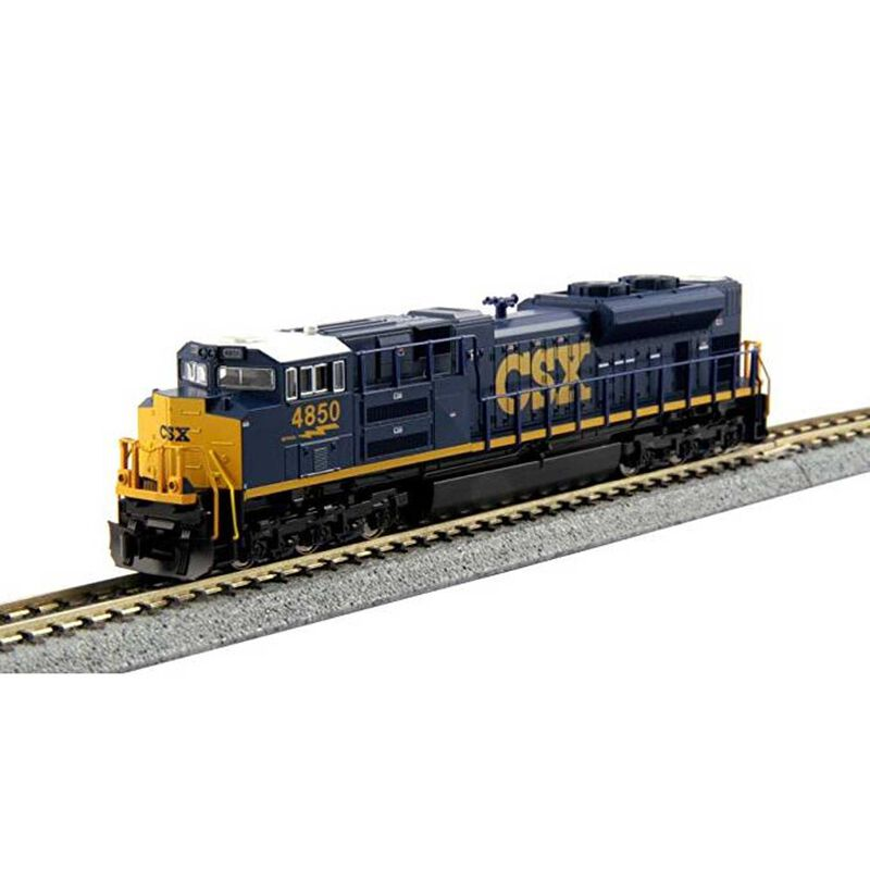 N EMD SD70ACe CSX Dark Future with DCC #4850