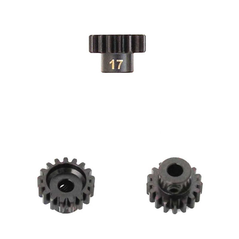 M5 Pinion Gear, 17T,  MOD1, 5mm Bore, M5 Set Screw