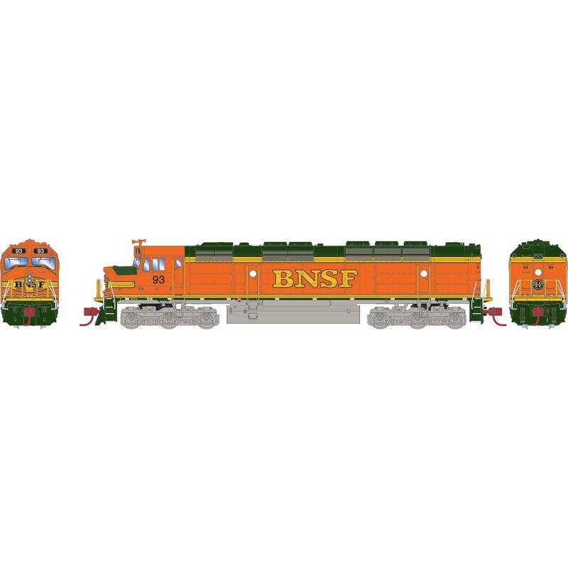 N FP45 w/DCC & Sound, BNSF #93