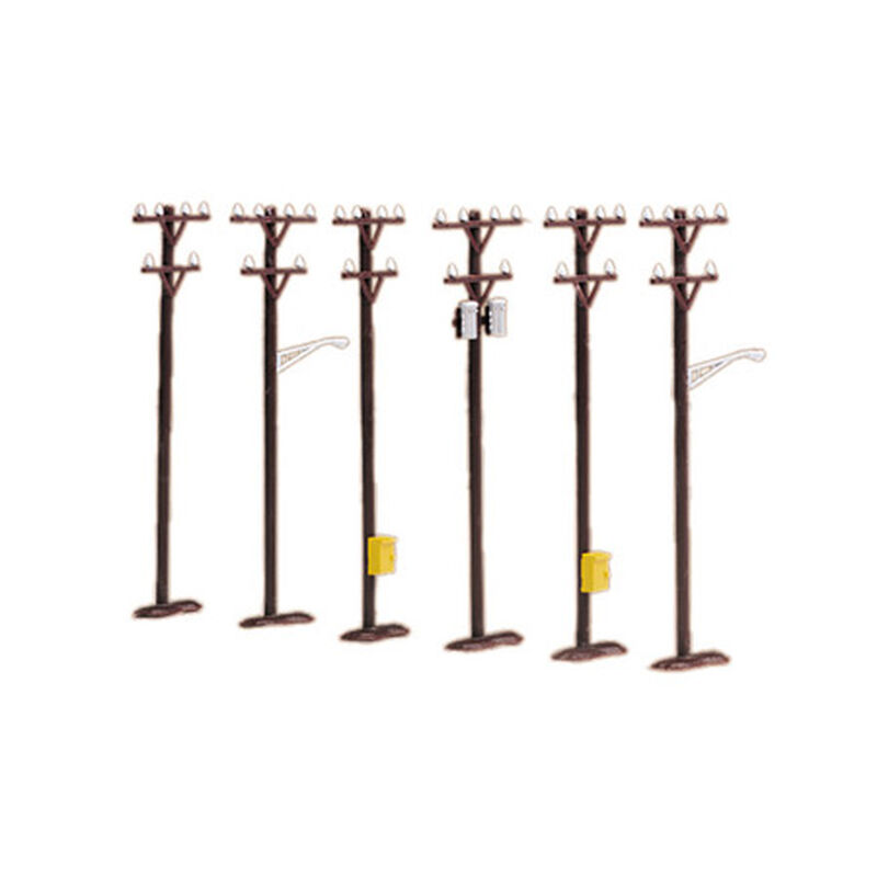 O Telephone Pole Set (6)