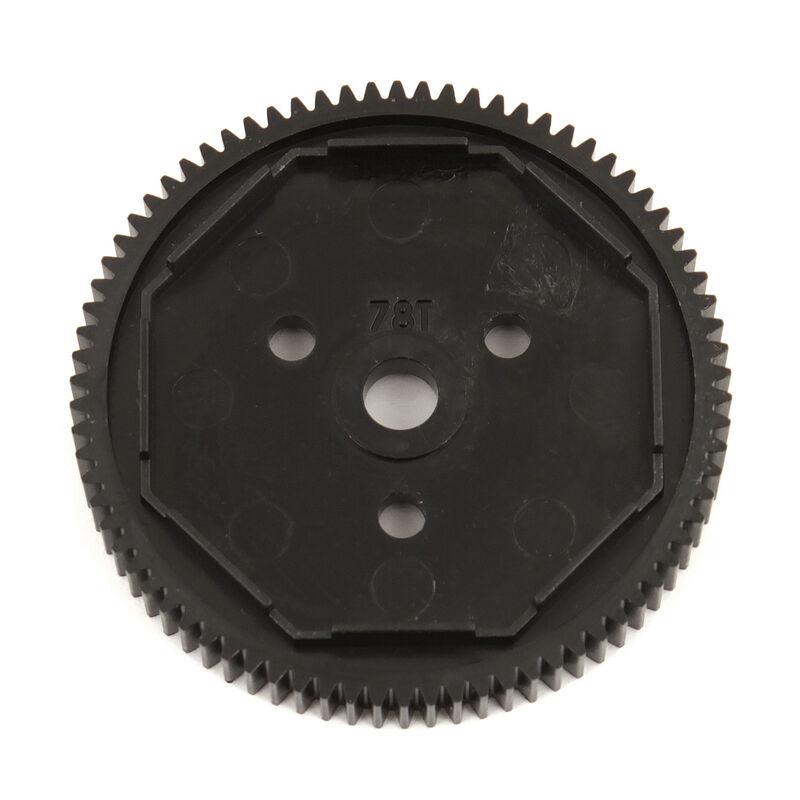 Spur Gear, 78T, 48P: B6.1