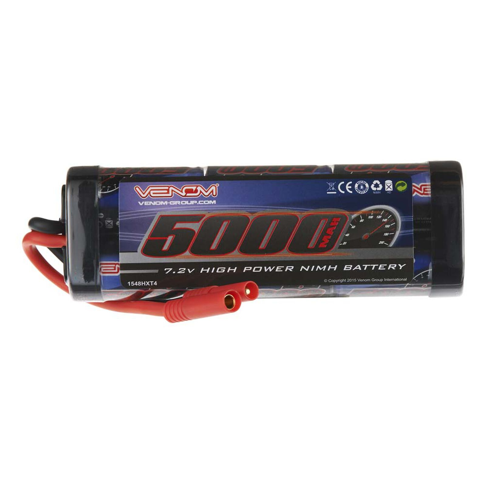 7.2V 5000mAh 6-Cell DRIVE NiMH Battery: HXT4