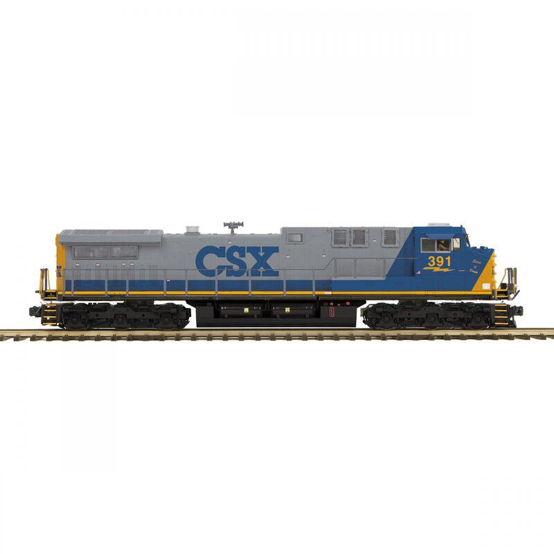 O-27 AC4400cw with PS3 Hi-Rail CSX #391